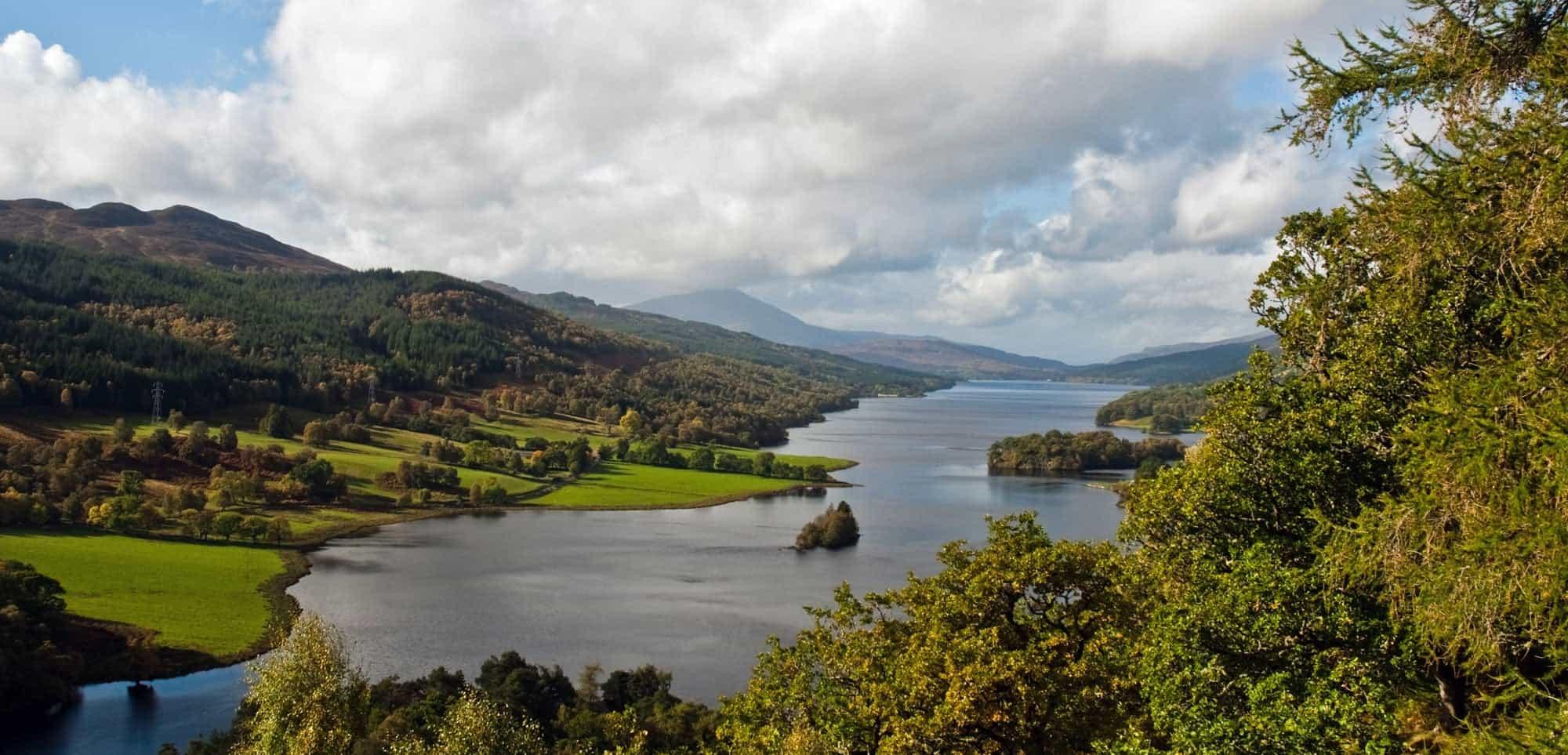 Queen's View Scottish Highlands