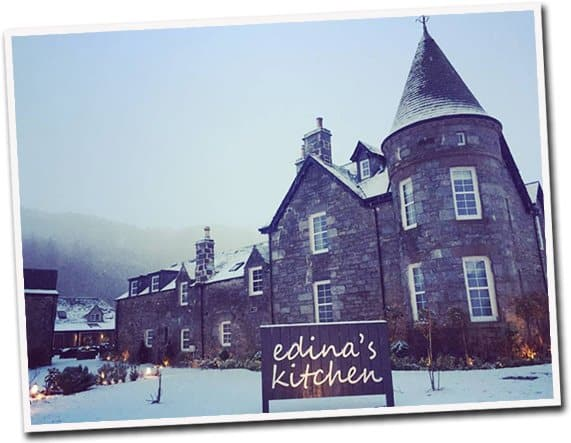 Edinas Kitchen at Dunalastair Hotel