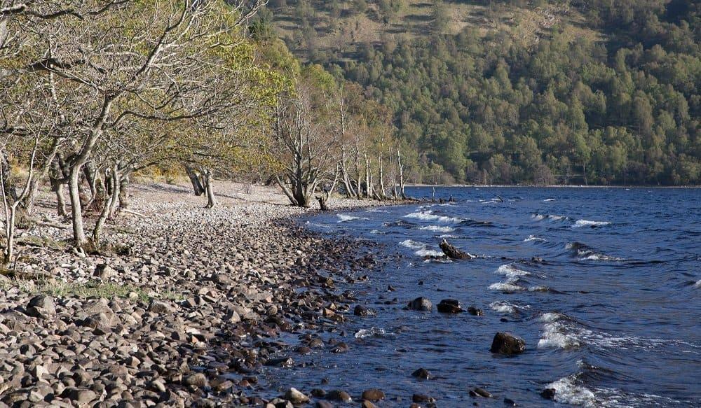 Loch Rannoch in summer