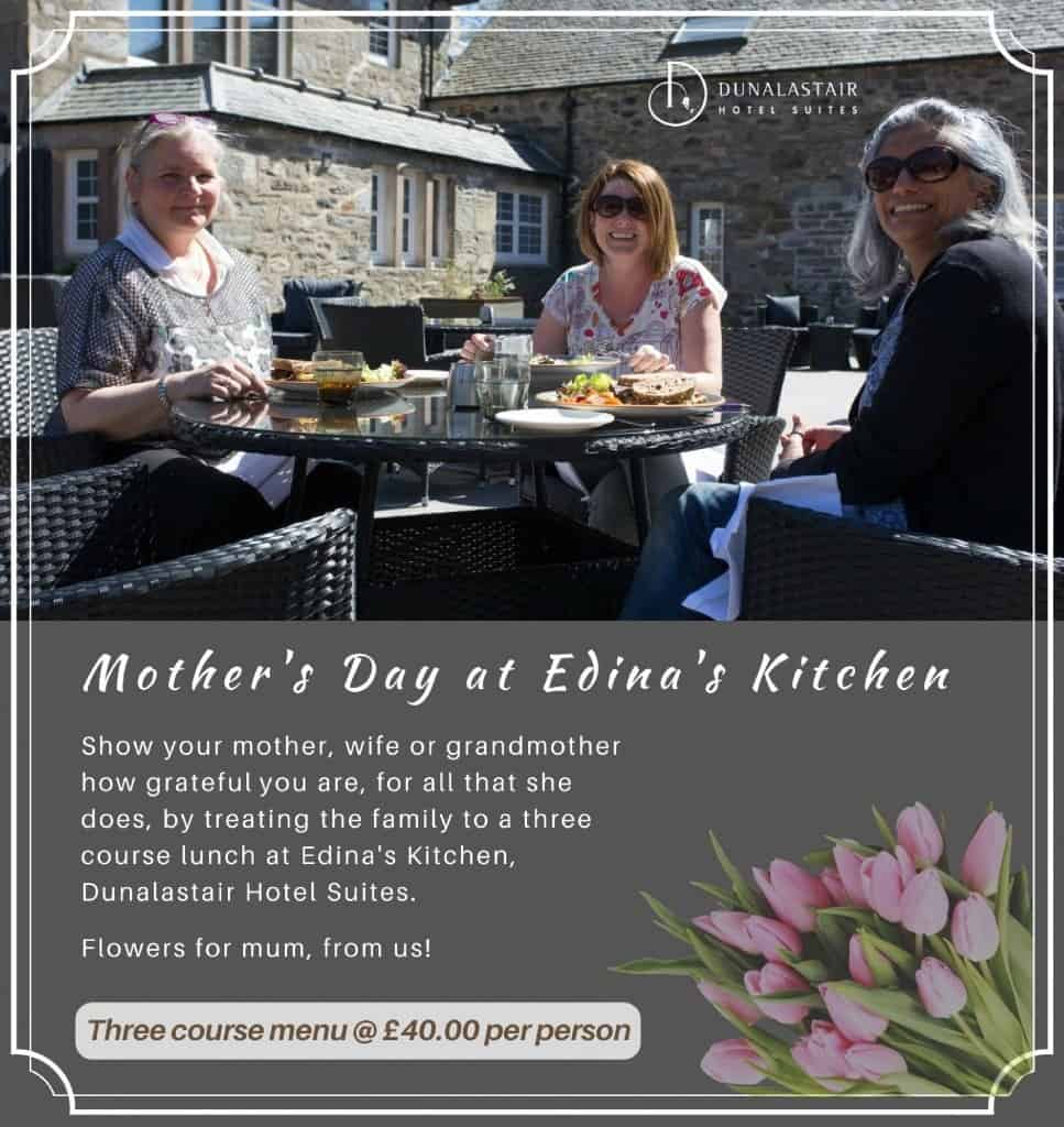 Mother's Day at Monadh Dining