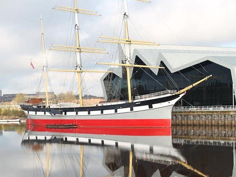 Riverside Museum & Tall Ship