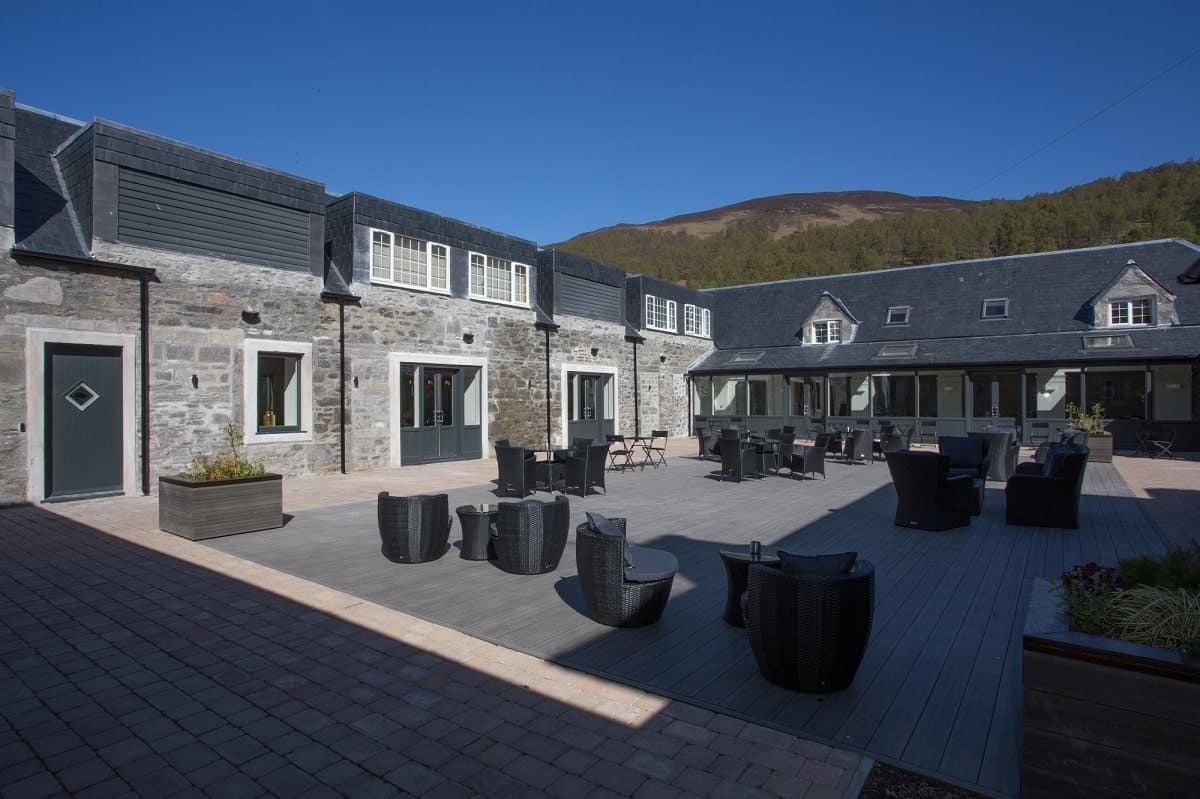 Dunalastair Hotel Courtyard