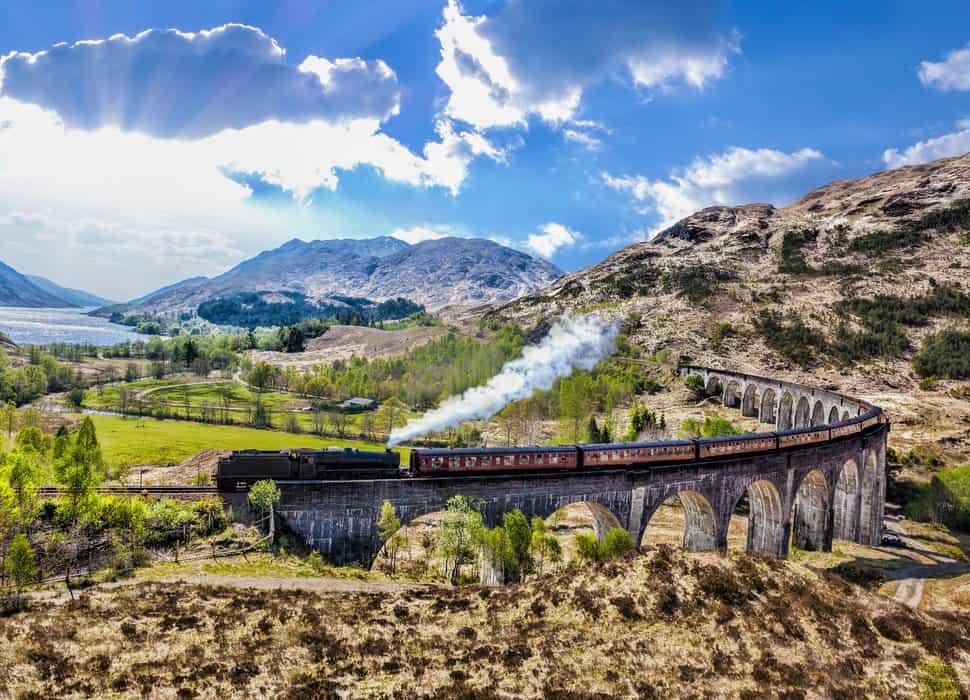 The Hogwarts Express Bridge
