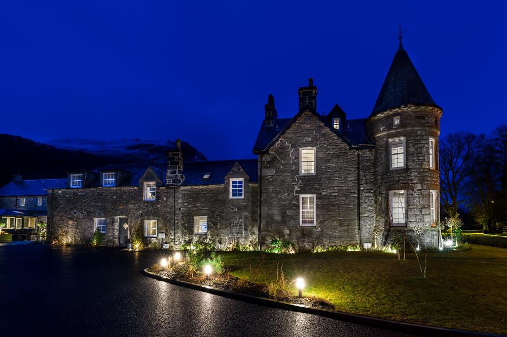 enchanted night at Dunalastair