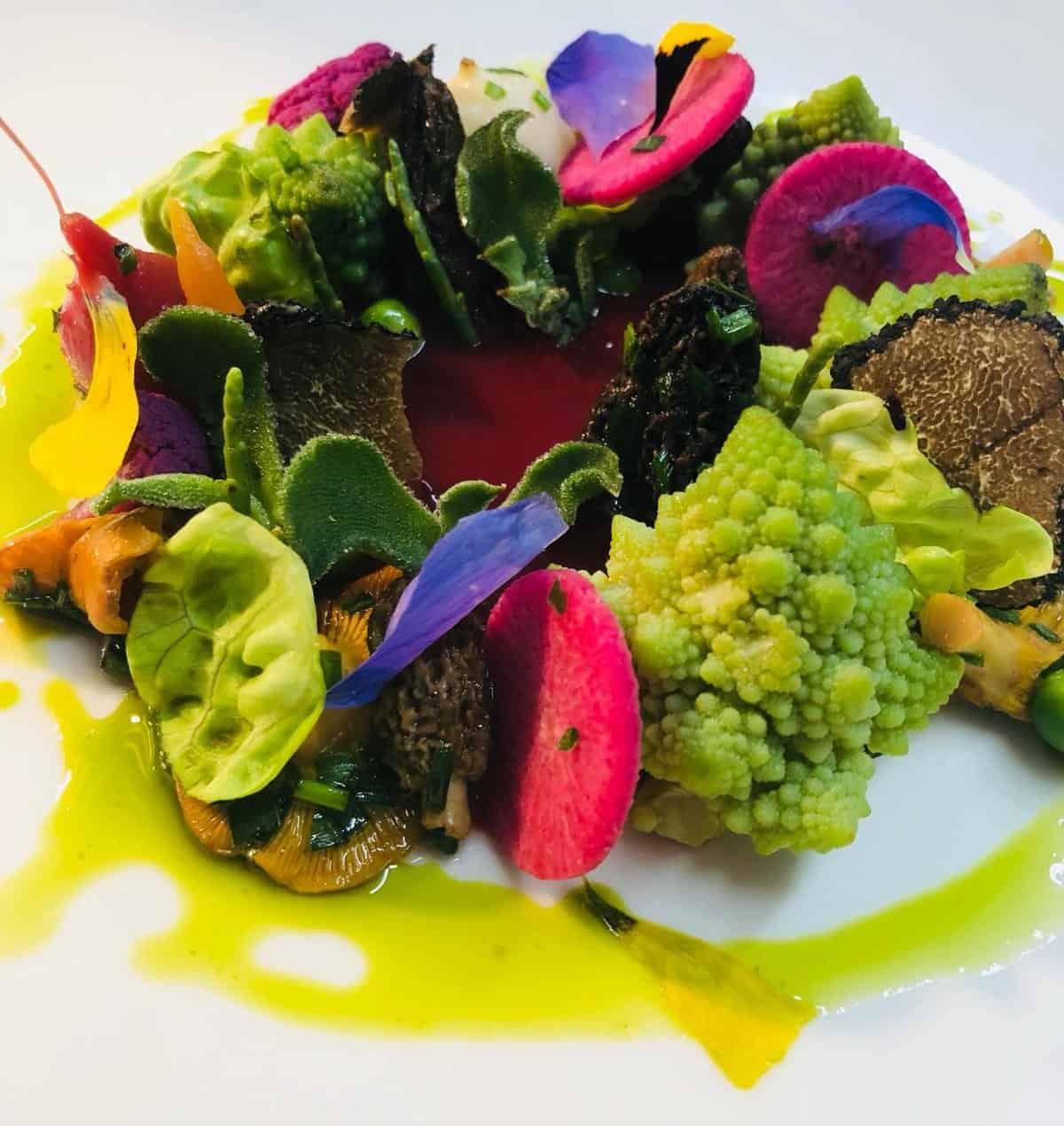 vegan food at dunalastair