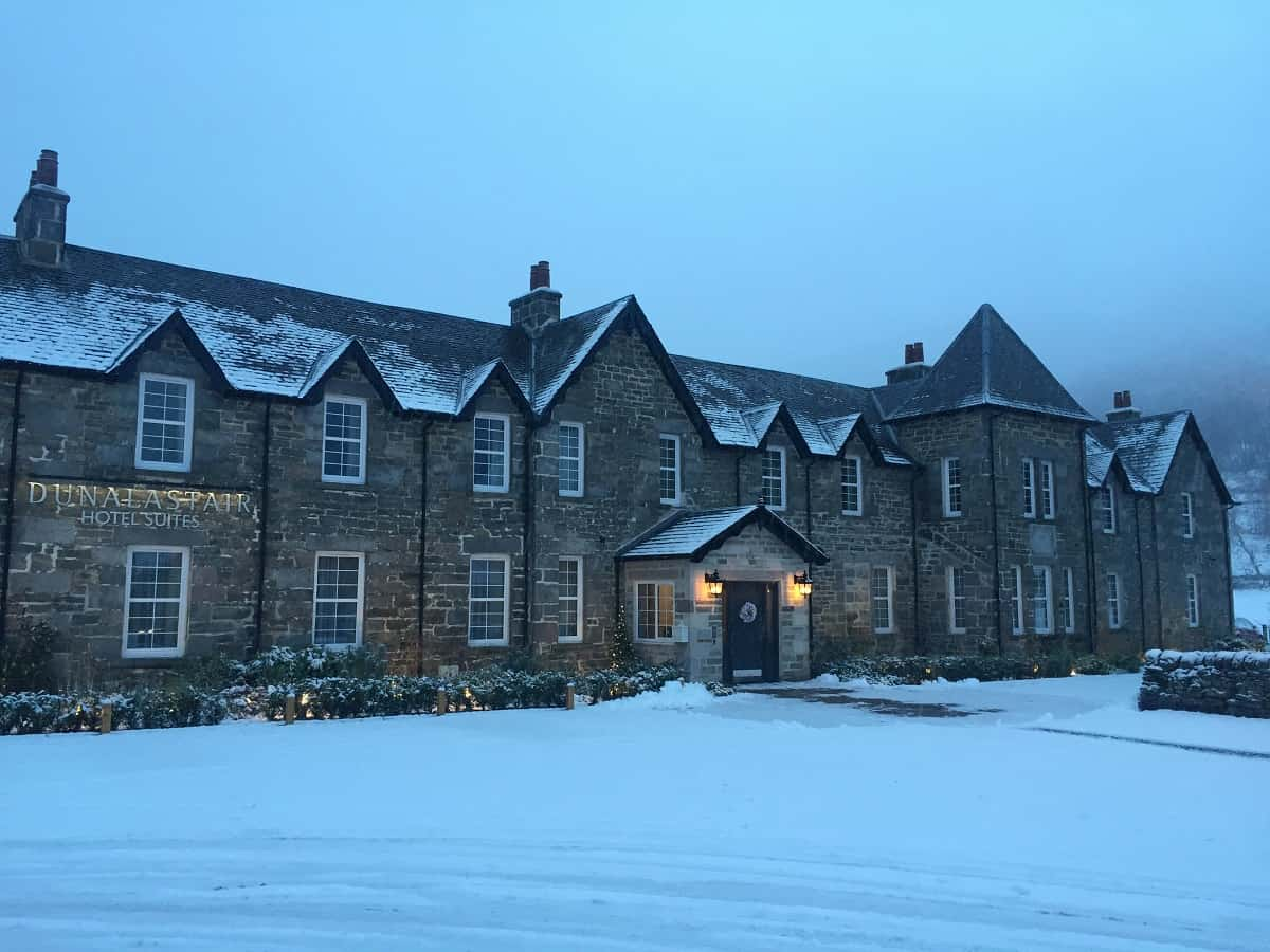 Dunalastair Hotel Snow