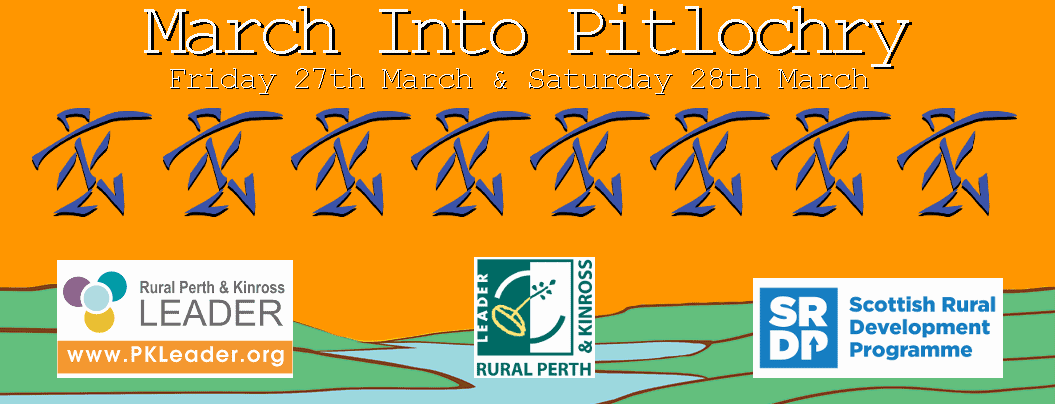 march into pitlochry